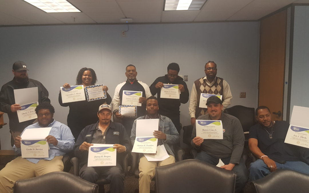 The Boggs Group 1st CDL Class 'B' Graduating Class